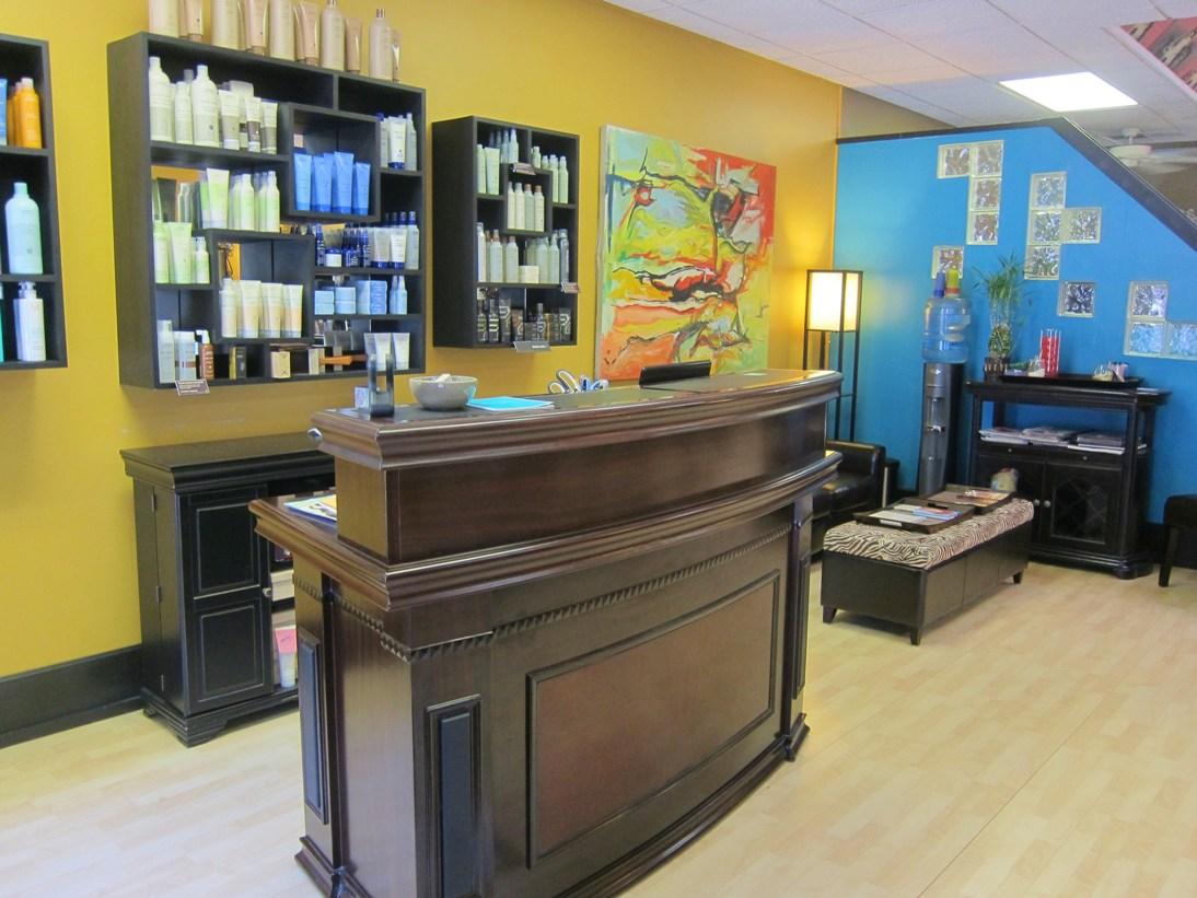 Hair Salon Front Desk
