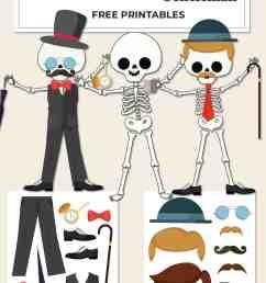 Build a Skeleton Gentleman - Kid Craft - Mrs. Merry [ 1500 x 1000 Pixel ]