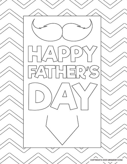Printable best dad coloring pages for kids | 647x500