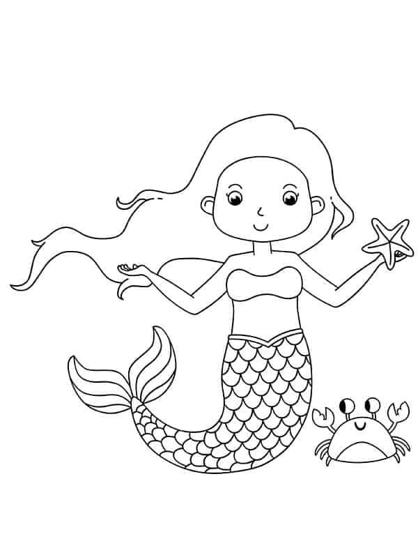Build Your Own Mermaid - Free Mermaid Printables - Mrs. Merry