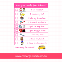 Kids Morning Routine Charts  Are you Ready for School ...