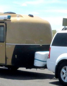 Spray Painting Surfaces in a Casita Travel Trailer: How-To's