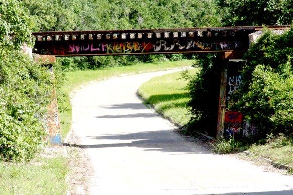 Old Texas Hwy 35 Train Bridge
