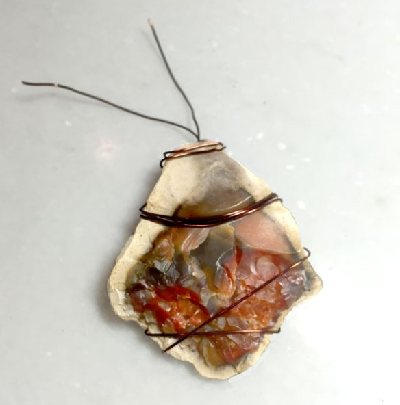 Wrapping Copper Wire Around a Rock