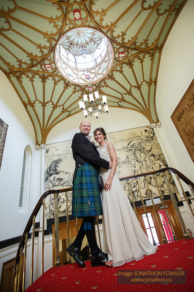 Dalhousie Castle wedding photos by Edinburgh wedding photographer-1047
