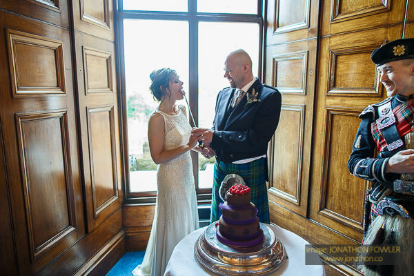 Dalhousie Castle wedding photos by Edinburgh wedding photographer-1054