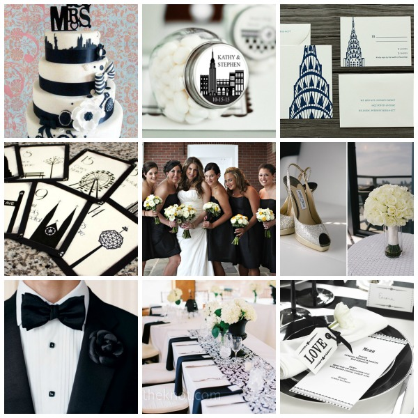 Gothic New York Ballroom Wedding