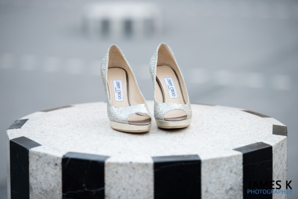 James K Photography, paris wedding photography, parisian wedding photographer,  parisian Pre wedding shoot, parisian bride and groom, paris wedding, le Jardin du Palais Royal, Jimmy Choo shoes, jimmy choo heels, jimmy choo wedding shoes