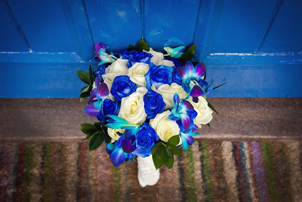 winter wedding, church wedding, julie anne images, anglo dutch wedding , church hall reception, dutch decor, bridal bouquet, blue flowers, blue wedding flowers
