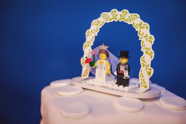 winter wedding, church wedding, julie anne images, anglo dutch wedding , church hall reception, dutch decor, lego wedding cake, lego cake topper