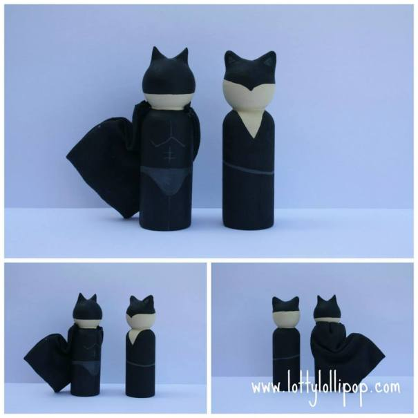 batman and catwoman cake topper, batman and catwoman wedding cake topper