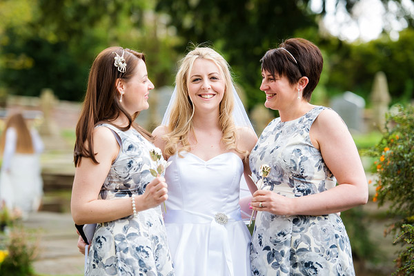 Emma & Dan wedding, Neil Redfern photography, bride and bridesmaids