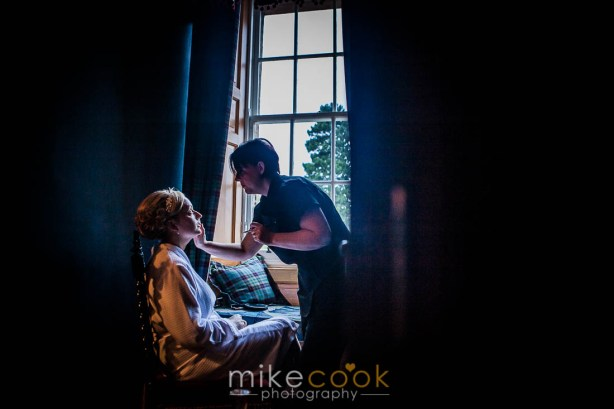 bridal make up , mike cook photography