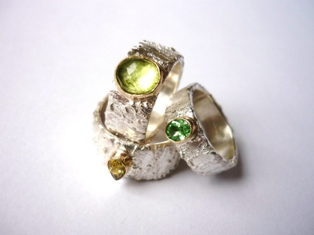 gemstone ring, Handmade and unique jewellery, Precious Metal jewellery, gemstone jewellery , Susanna Hanl
