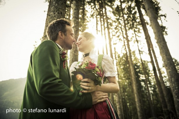 2 people 1 life, forest, austria, stefano lunardi photo