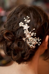 monsoon wedding hair accessories a purple and pearls ...