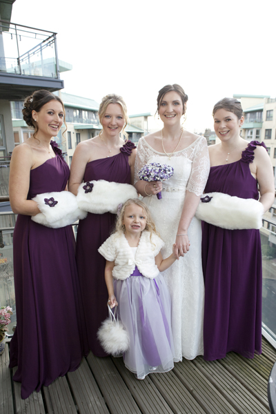 bolero clips, love bouquets, bride and bridesmaid and flowergirl, jenniflower wedding photography