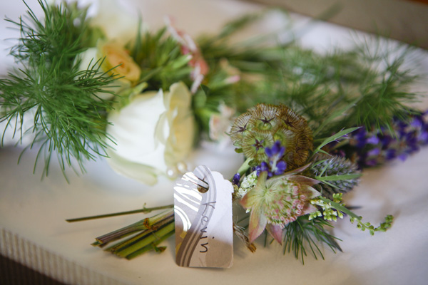 thistle corsages, silver photography