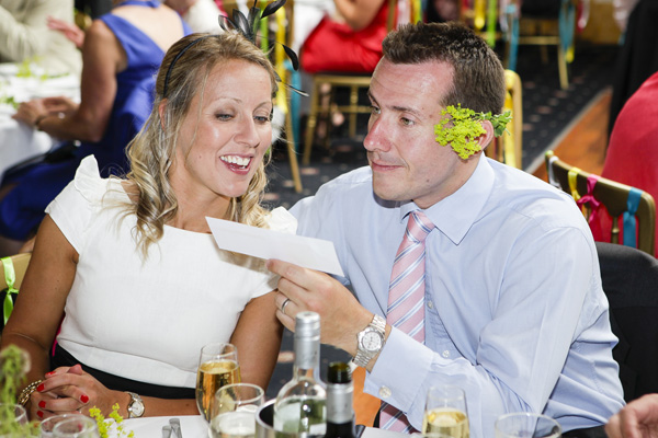 wedding guests, silver photography