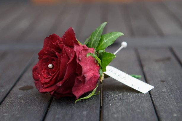 Layer Marney Tower, Pengelly-Photography, red rose buttonhole, clare luke, traditional vintage flower company
