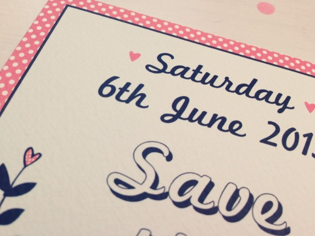 SAVE THE DATE 4 - The Strawberry Shake Collection, Best Day Ever, wedding stationery