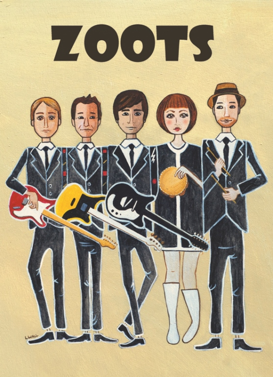 The zoots, finding a Wedding Band