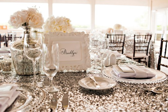 sequins table cloth, event linens , gilded linens