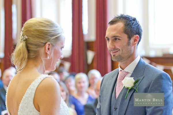 Winchester wedding photography, Martin Bell Photography , wedding ceremony