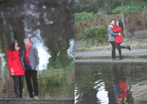 glasgow southside, maxwell park, engagament shoot, nicola cooney photography