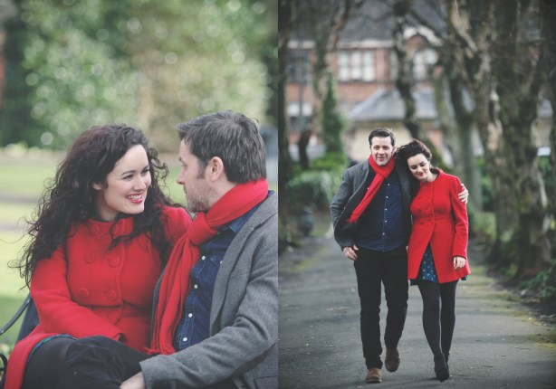 engagement shoot, Glasgow southside, Nicola Cooney Photography, maxwell park