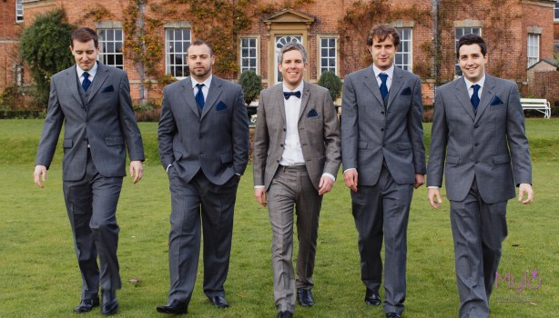 groom and groomsmen, mylo photography