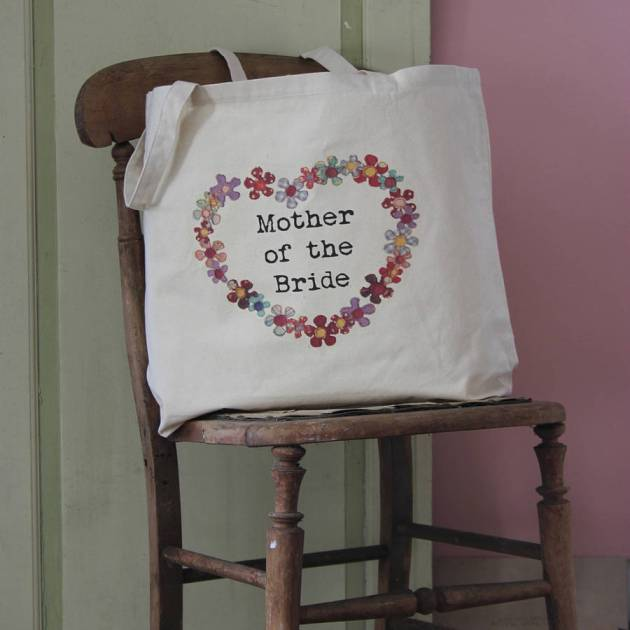 personalised wedding tote bag, snapdragon bride, plans and presents sponsor