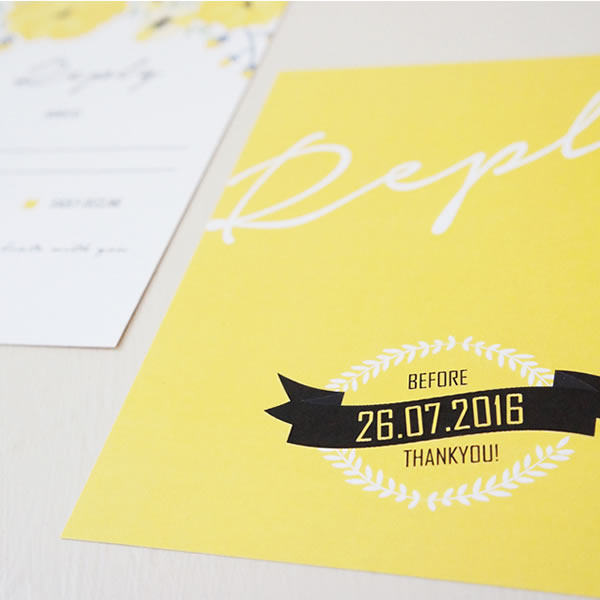 Rica design, becky lord design, wedding stationery