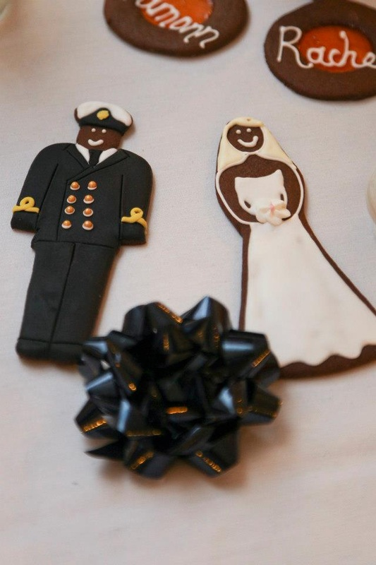 gingerbread bride and groom, maid of gingerbread, hackney london