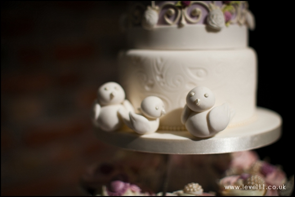 wedding cake, bird detail, confection perfection, level 11 photography