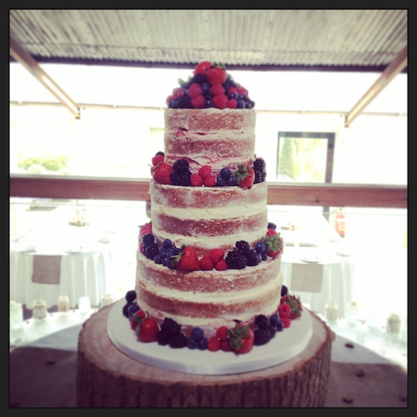 naked cake, the vanilla pod bakery cheltenham