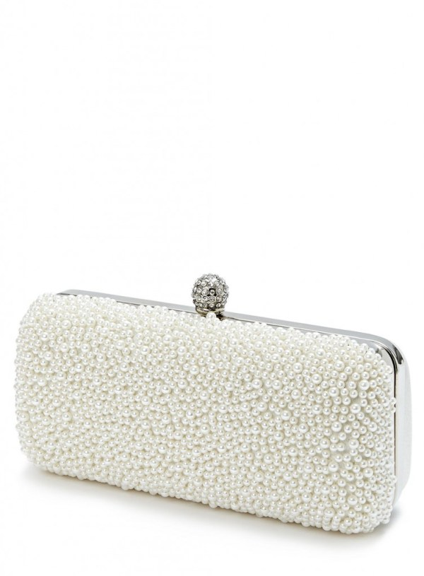 BHS Wedding Collection, Giveaway, pearl box bag