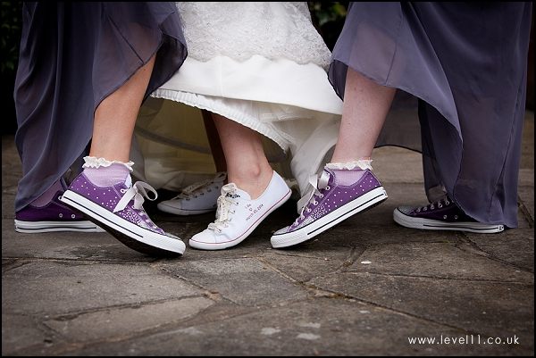 wedding custom bride and bridesmaid converse shoes, level 11 photo