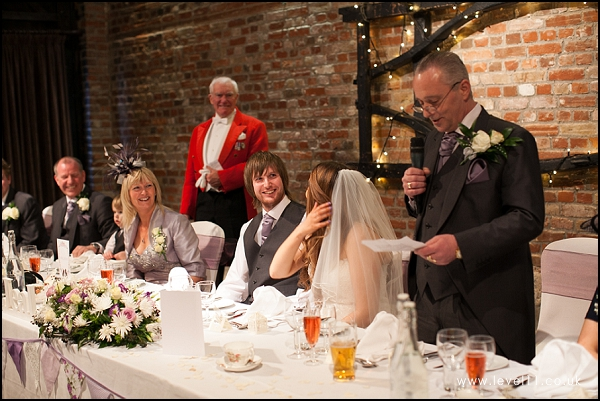 wedding reception speeches, cooling castle barn, level 11 photography