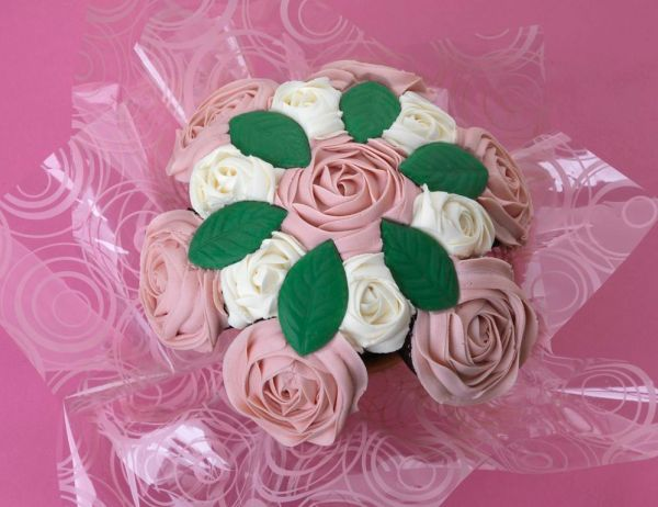 cupcake bouquet, cake cetera, nationwide uk delivery