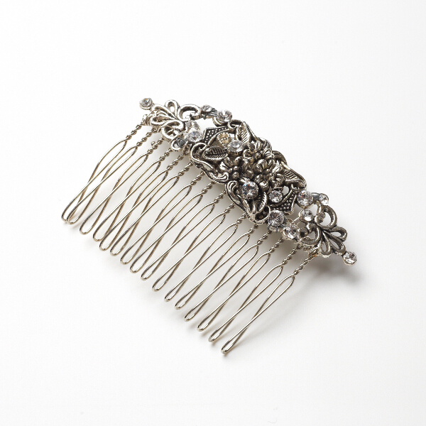 www.FlorioDesigns.co.uk , Vintage style hair comb