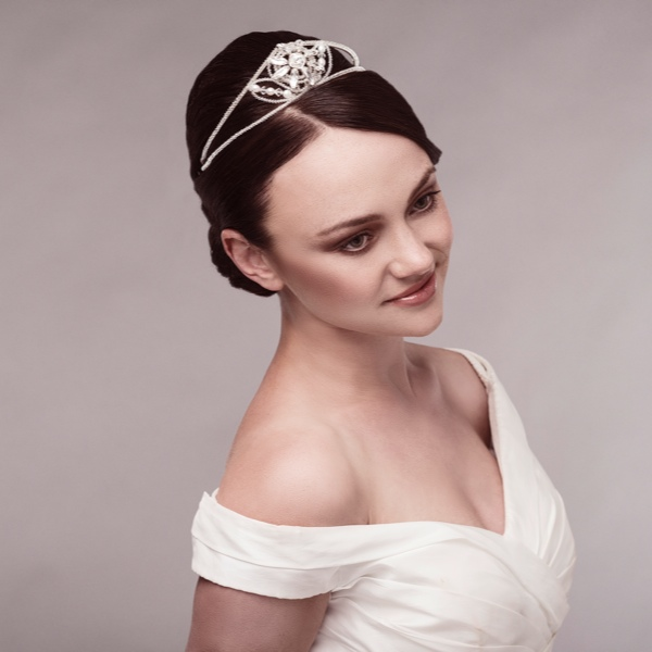 Camilla Carrington, Grace Tiara, entwined collection