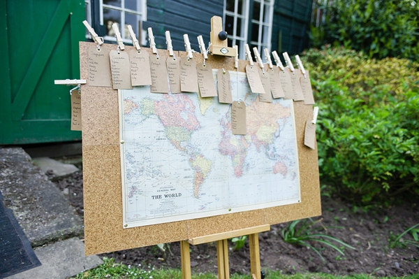 world map table plan, cris lowis photo