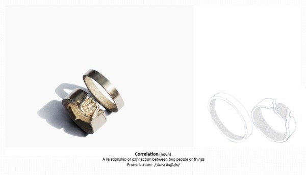 Sofie Boons - Wedding rings - Correlation