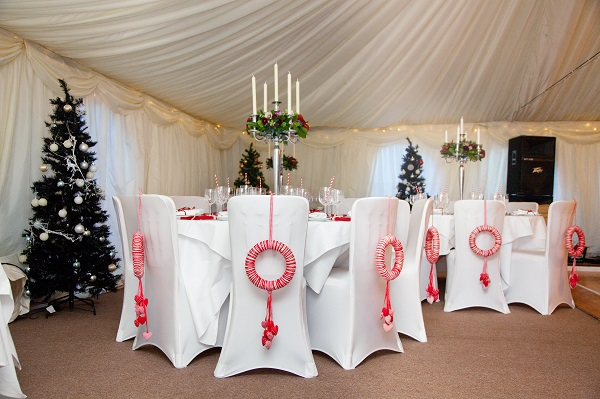 Winter Wedding Marquee Reception - Deer Park