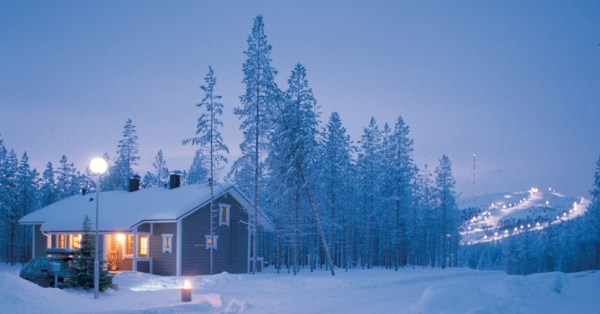 Finland, winter honeymoon locations