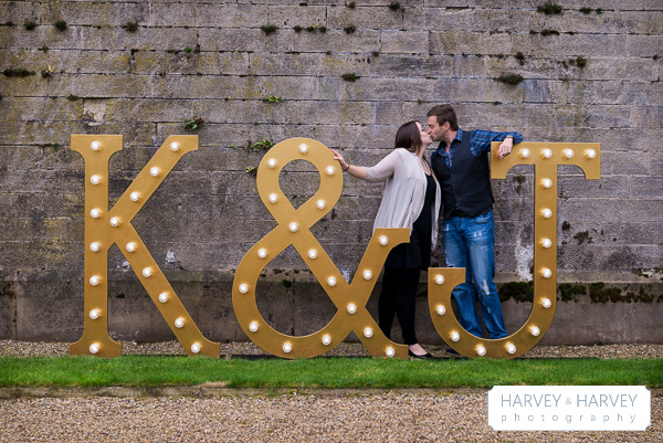 HarveyHarvey photography,  illuminated Letter Lights, stoke rochford hall, mad philomena
