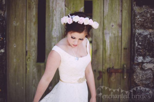 Floral Headbands, Rosey Posey Creations, Enchanted Brides Photography