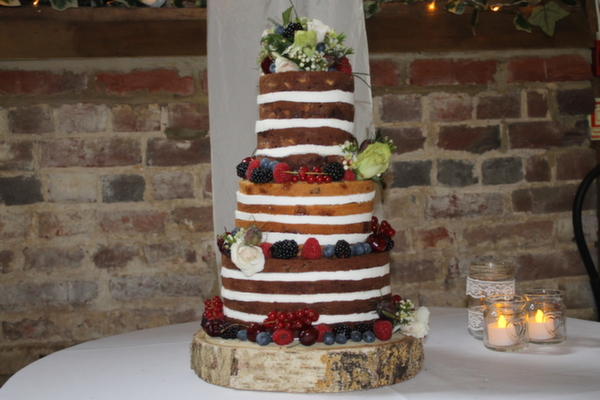 Anna's Bakes , naked wedding cakes , brownie naked cake, naked brownie wedding cake