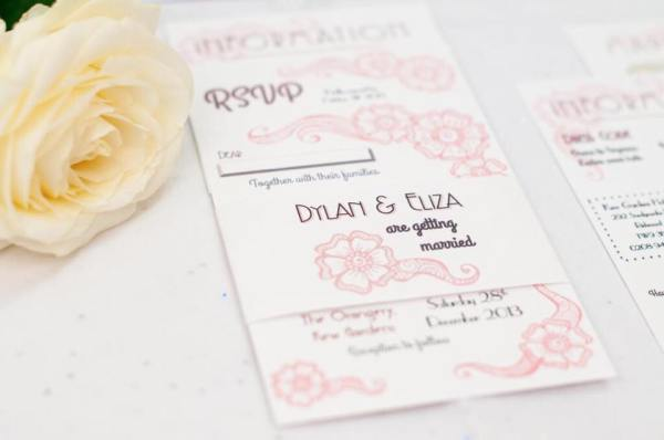 Coral & Slate, Bespoke prints, Wedding Stationery, Signage